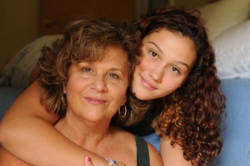 Photos of Sarah Marley and her daughter.
