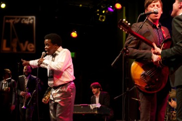Soul singer Lee Fields and the Expressions play at the World Cafe in Philadelphia.