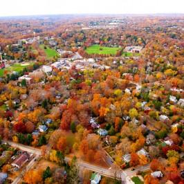 Aerial Swarthmore