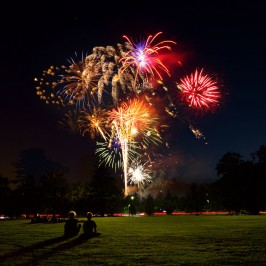 Swarthmore College Fireworks